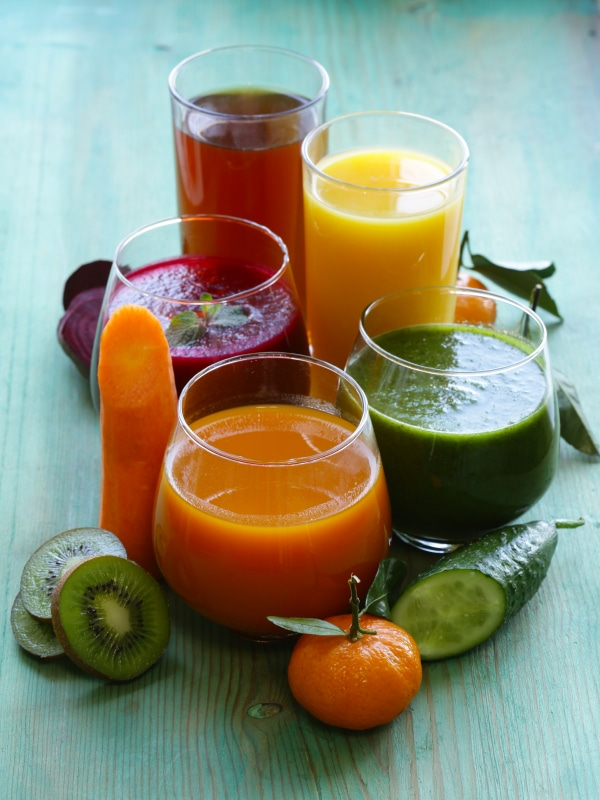 Different Fruit Juices